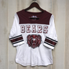 Bears BH Maroon/White 3/4 Sleeve