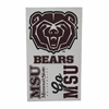 MSU Bears Temporary Tattoos