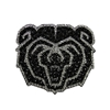 Bear Head Bling Magnet