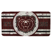 Bear Head Est. 1905 License Plate Cover