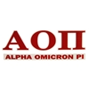 Alpha Omicron Pi Decal