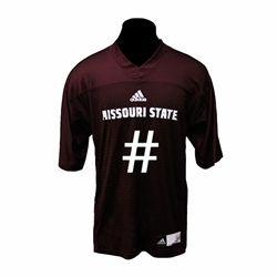 Adidas Custom Missouri State Football Jersey