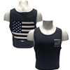 Comfort Color Missouri State with Flag in Bear Head Denim Tank