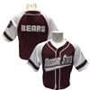 Colosseum Missouri State Maroon and White Baseball Jersey