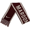 Nike Maroon Nation Scarf with Bear Head