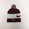 Nike Beanie with Pom on Top & Bear Head