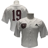 Adidas Bear Head White Baseball Jersey Full Button