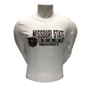 Russell Missouri State University White Long Sleeve Tee