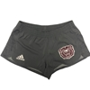 Adidas Ladies Bear Head Gray Shorts