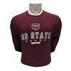 Russell Bear Head MO State Bears Maroon Crew Neck
