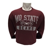 Champion MOSTATE Bears Maroon Crew Neck