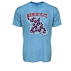 CI Sport Missouri State Shape of Missouri Light Blue Short Sleeve Tee