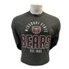 CI Sport Missouri State Bear Head Bears Est. 1905 Charcoal Long Sleeve Tee
