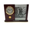 Desk Clock with Photo Frame