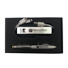 Missouri State Univeristy Bear Head Silver Pen and Power Bank