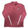 Colosseum Bear Head Maroon Quarter Zip