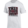 Champion This is Our Court MSU Bears Basketball White Short Sleeve Tee