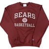 Champion Bears Basketball Maroon Crew Neck