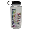 Nalgene Missouri State Tie Dye Clear 32 Oz Bottle