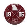 1905 State of Missouri Compass Maroon Button