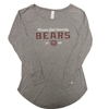 CI Sport Ladies Missouri State University Bears Est. 1905 Gray Long Sleeve Tee