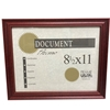 Cherry Certificate Frame