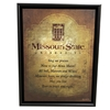 Carrington Missouri State Alma Mater Canvas in Frame