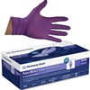 PURPLE NITRILE MEDICAL EXAM GLOVES LARGE