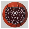 Decal - Basketball with BearHead