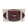 Decal - Football with BearHead