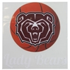 Decal - Lady Bears Basketball with BearHead