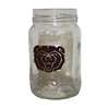 Missouri State Bear Head Mason Jar