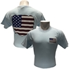 Comfort Colors Missouri State with Flag in Bear Head Light Blue Short Sleeve Tee