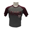 Adidas Bears Baseball Maroon & Gray Short Sleeve Tee