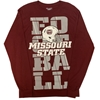 Champion Maroon MO State Football Long Sleeve