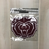 Bear Head 8 inch Emblem Patch