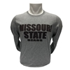 Russell Missouri State Bears Striped LS Tee