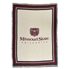 Missouri State University Afghan Stadium Blanket