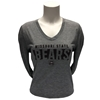 Adidas Ladies Missouri State BEARS V-Neck LS Tee