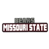 Decal- Missouri State Bears