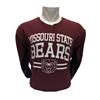 Missouri State Bears- Bears BH on Side-Go Missouri State on Sleeve Long Sleeve Tee