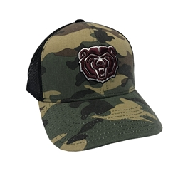 Missouri State Bookstore - Adidas Camo Bear Head Cap 9a3bbe86985