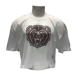 Champion Bear Head White Jersey