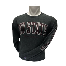 Champion MOSTATE Charcoal Long Sleeve Te