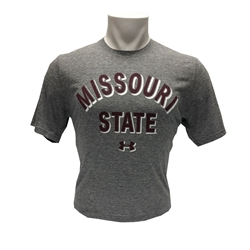 Under Armour Missouri State Charcoal Short Sleeve Tee