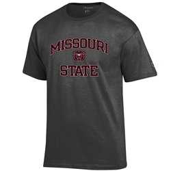 Champion Missouri State Charcoal Short Sleeve Tee