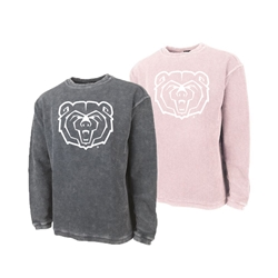 Charles River Bear Head Green Crew Neck