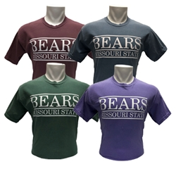 Comfort Colors Bears Missouri State Short Sleeve Tees