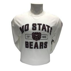 Champion MOSTATE Bears White Long Sleeve Tee