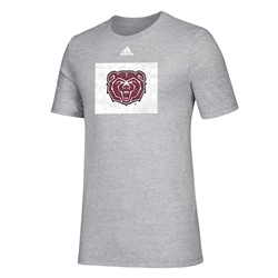Adidas Bear Head in Box Oxford Short Sleeve Tee